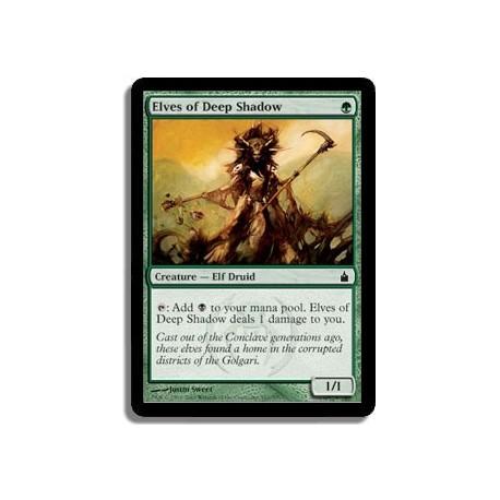 Verte - Elfes de l'ombre profonde (C)