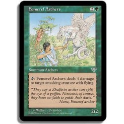 Verte - Archers femeirefs (U)
