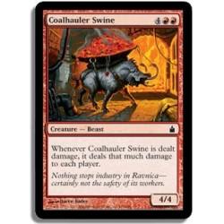 Rouge - Cochon tirecharbon (C)