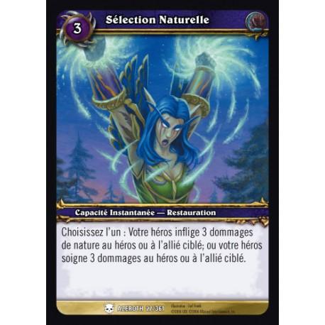 Capacité Druide - Sélection Naturelle (C)