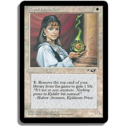 Blanche - Herborisateur royal (C)