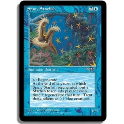 Bleue - Etoile de mer epineuse (U)