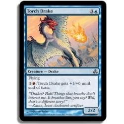 Bleue - Drakôn torche (C)