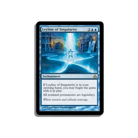 Bleue - Ligne ley de singularité (R)