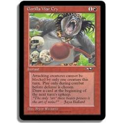 Rouge - Cri de guerre des gorilles (C)