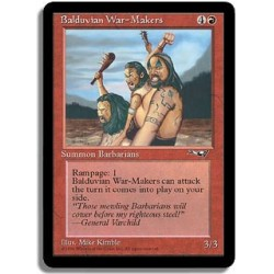 Rouge - Fauteurs de guerre balduvians (C)