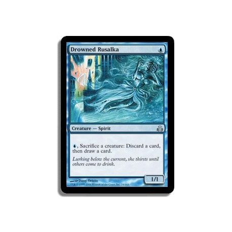 Bleue - Rusalka noyée (U)