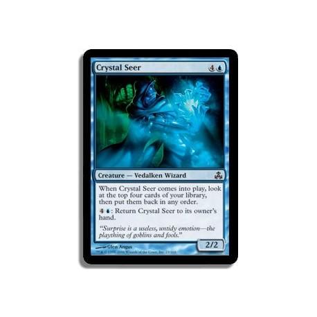 Bleue - Voyant de cristal (C)