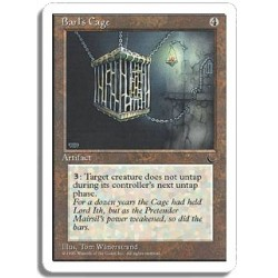 Artefact - Barl's cage (R)