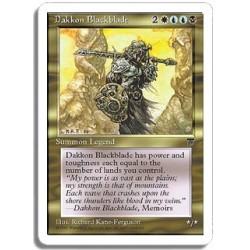 Or - Dakkon blackblade (R)
