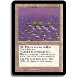 Artefact - Blue mana battery (U)