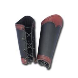 Bracelets GUERRIER Noir/Rouge (S)