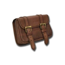 Sac GUERRIER 2 Boucles Marron (L)