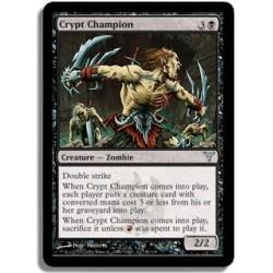 Noire - Champion de la crypte (U)