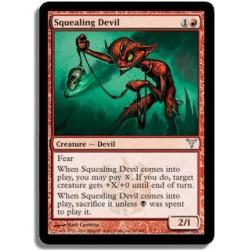 Rouge - Diable glapissant (U)