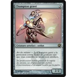 Artefact - Champion gravé (R) [SCAR] (FOIL)