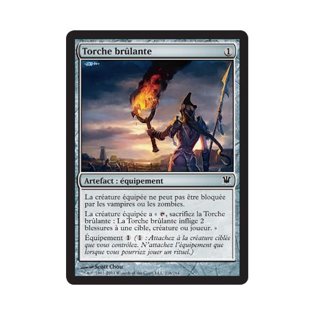 Artefact - Torche Brûlante (C) [INN]