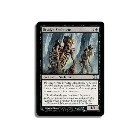 Noire - Squelettes serviles (U)