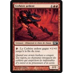 Rouge - Cerbère ardent (C) [M10] (FOIL)