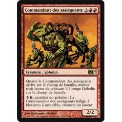 Rouge - Commandant des assiégeants (R) [M10] (FOIL