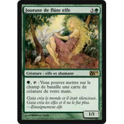 Verte - Joueuse de flûte elfe (R) [M10] (FOIL)