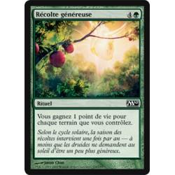 Verte - Récolte généreuse (C) [M10] (FOIL)