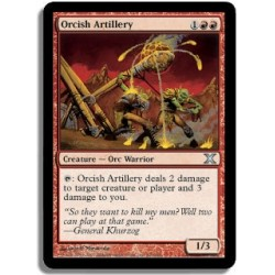 Rouge - Artillerie orque (U)