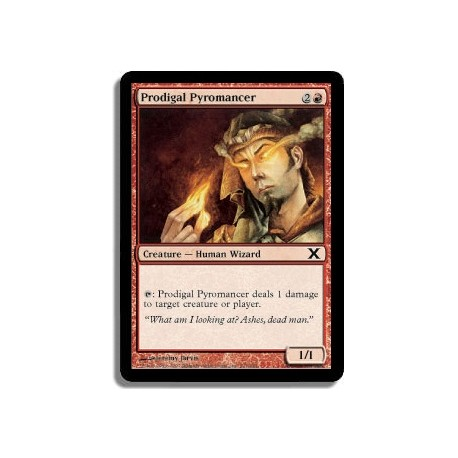 Rouge - Pyromancien sybarite (C)