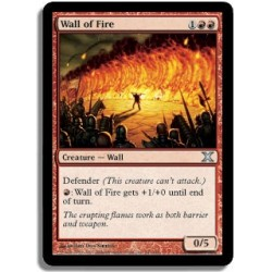Rouge - Mur de feu (U)