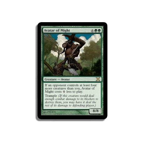 Verte - Avatar de la puissance (R)