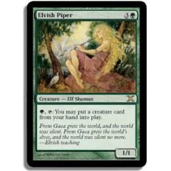 Verte - Joueuse de flûte elfe (R)