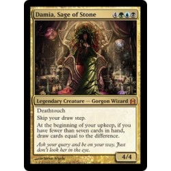 Or - Damia, Sage of Stone [CMDER FOIL OVERSIZE]