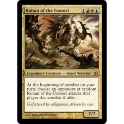 Or - Ruhan of the Fomori [CMDER FOIL OVERSIZE]