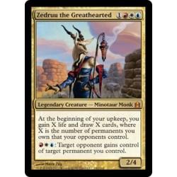 Or - Zedruu the Greathearted [CMDER FOIL OVERSIZE]