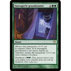 Verte - Sauvagerie Grandissante (FOIL R) [DKA]