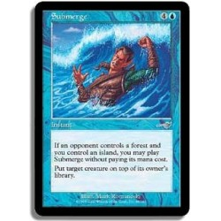 Bleue - Submersion FOIL (U)