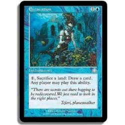 Bleue - Excavation (FOIL U)