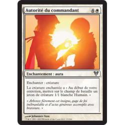 Blanche - Autorité du Commandant (U) FOIL [AVR]