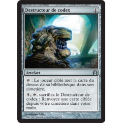 Artefact - Destructeur de Codex (U) [FOIL RTR]