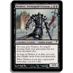 Noire - Haakon, plaie de Stromgald (R) [SGVF]