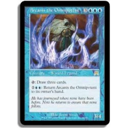 Bleue - Arcanis l`omnipotent FOIL (R) CARNAGE