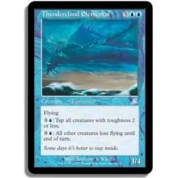 Bleue - Elémental de nuée d'orage FOIL (U) FLEAU