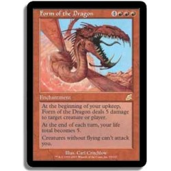 Rouge - Forme du dragon FOIL (R) FLEAU