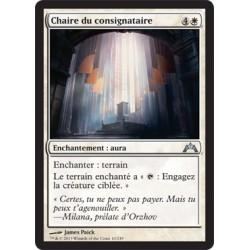 Blanche - Chaire du consignataire (U) [GTC] FOIL