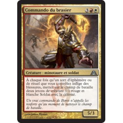Or - Commando du brasier (U) FOIL [DGM]