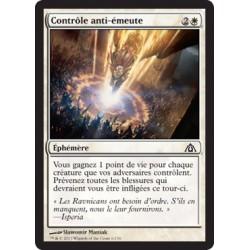 Blanche - Contrôle anti-émeute (C) FOIL [DGM]
