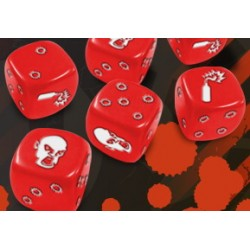 Zombicide - Set de Dés Rouge (Dispo)