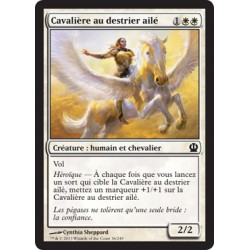 Blanche - Cavalière au destrier ailé (C) [THS]