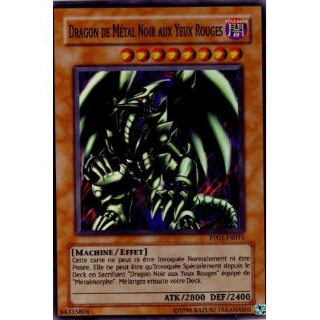 Dragon du Métal Noir aux Yeux Rouges (Secret Rare)