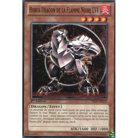 Horus Dragon de la Flamme Noire LV4 (C) [YSKR]